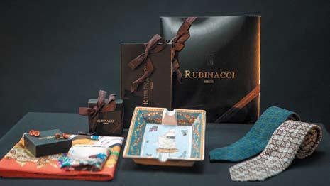 Набор галстуков и платков из неаполитанского шелка