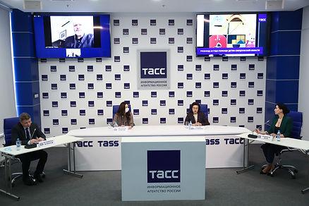 Екатерининская ассамблея, пресс-конференция ТАСС, Русфонд, СОСПП