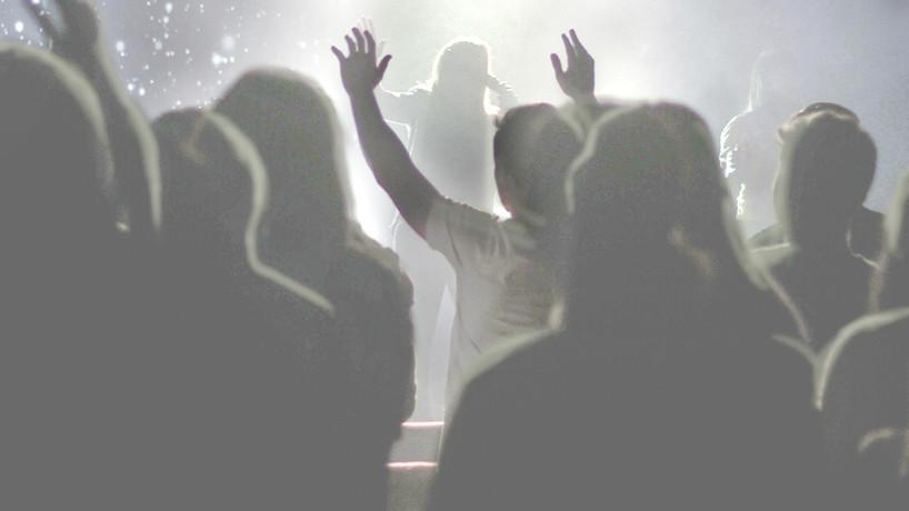 Publikum bei einer Aufführung