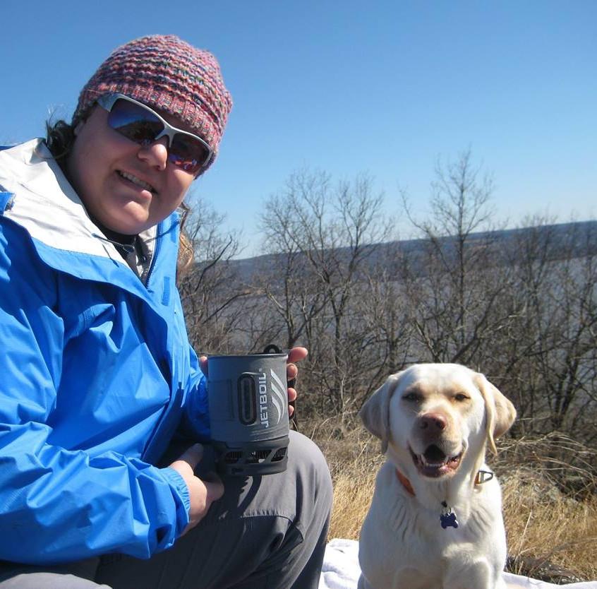 Lucy J. Madison hiking