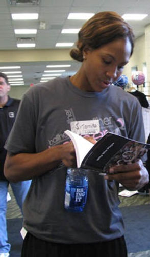 Tamika Catchings, Catch a Star, WNBA