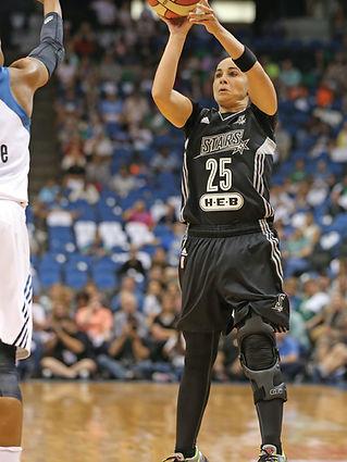 Becky Hammon Silver Stars WNBA