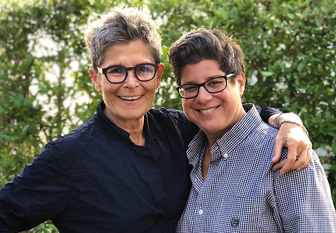 Kate Clinton and Michele Karlsberg