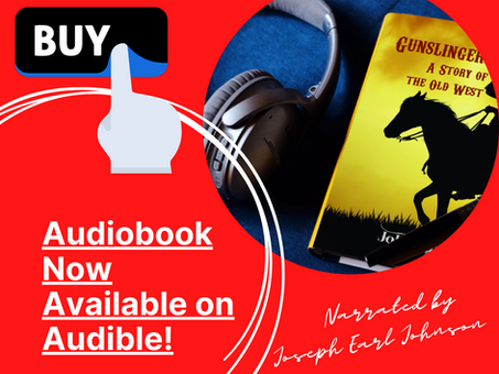 Audiobook of Gunslingers Now Available on Audible!