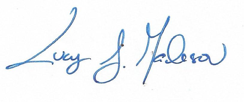 Lucy J. Madison Signature