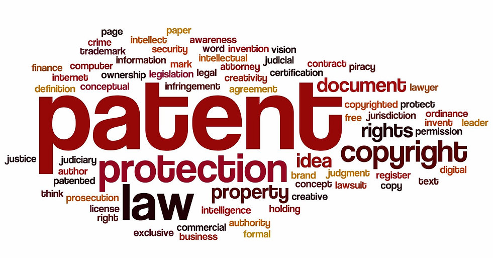word art about intellectual property