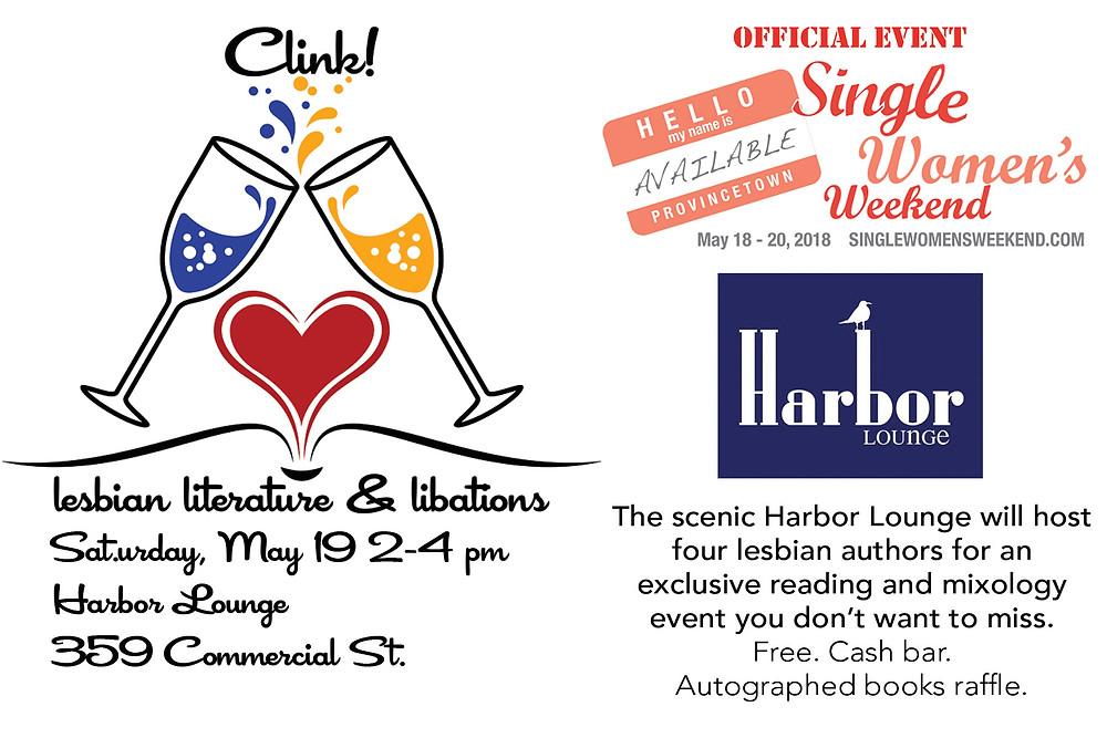 Clink: Lesbian Literature & Libations Event