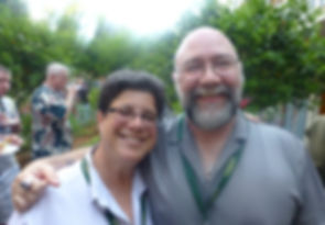 Jeff White and Michele Karlsberg