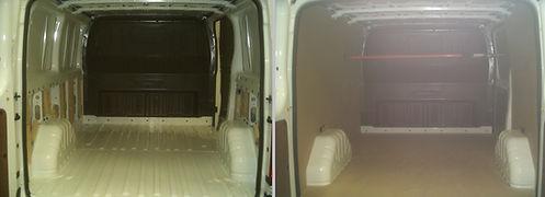 Allestimento furgone, rivestimento furgone, falegnameria, reggio emilia, modena, falegname,