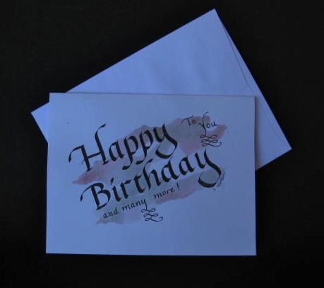happy birthday card I