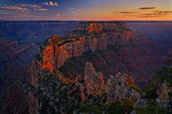 Cape-Royal-at-Sunset-Grand-Canyon-Arizona
