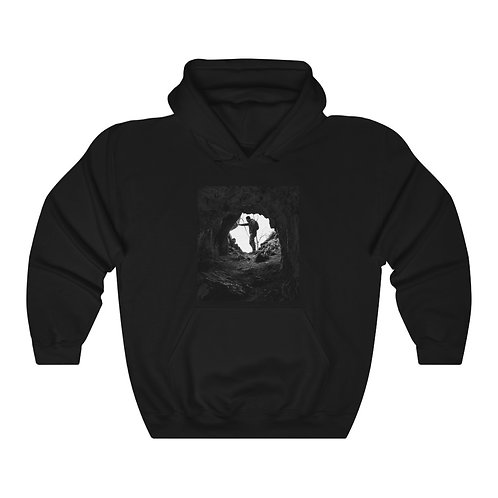 Unisex Heavy Blend™ Hooded Sweatshirt 'The Hiker'