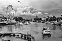 Bristol boat and wheel