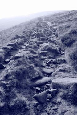 Broken steps to a peak