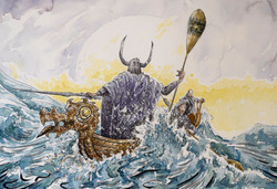 Arbitus & Ilbatrayu the Sea Lord 1st panel
