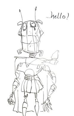 robo hero to color