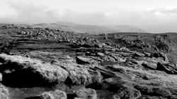A populated area. Kinder Scout.