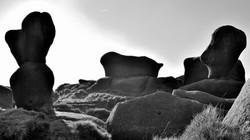 The Dark Peaks, shapes