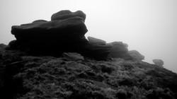 Peaks above Derwent reservoir