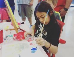 #paintparty candids
