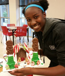 #gingerbreadhouse party 2016