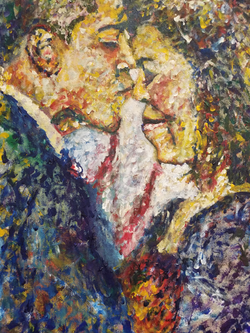 Obama kiss