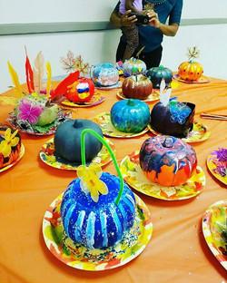 #pumpkin #paint #party #dollartree