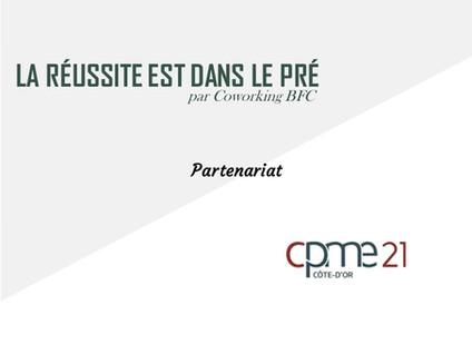 La réussite est dans le pré rejoint la CPME21