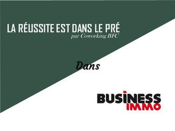 Intervention dans BUSINESS IMMO de Juillet 2021