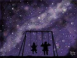 ANZ Studio Starry Night Sky