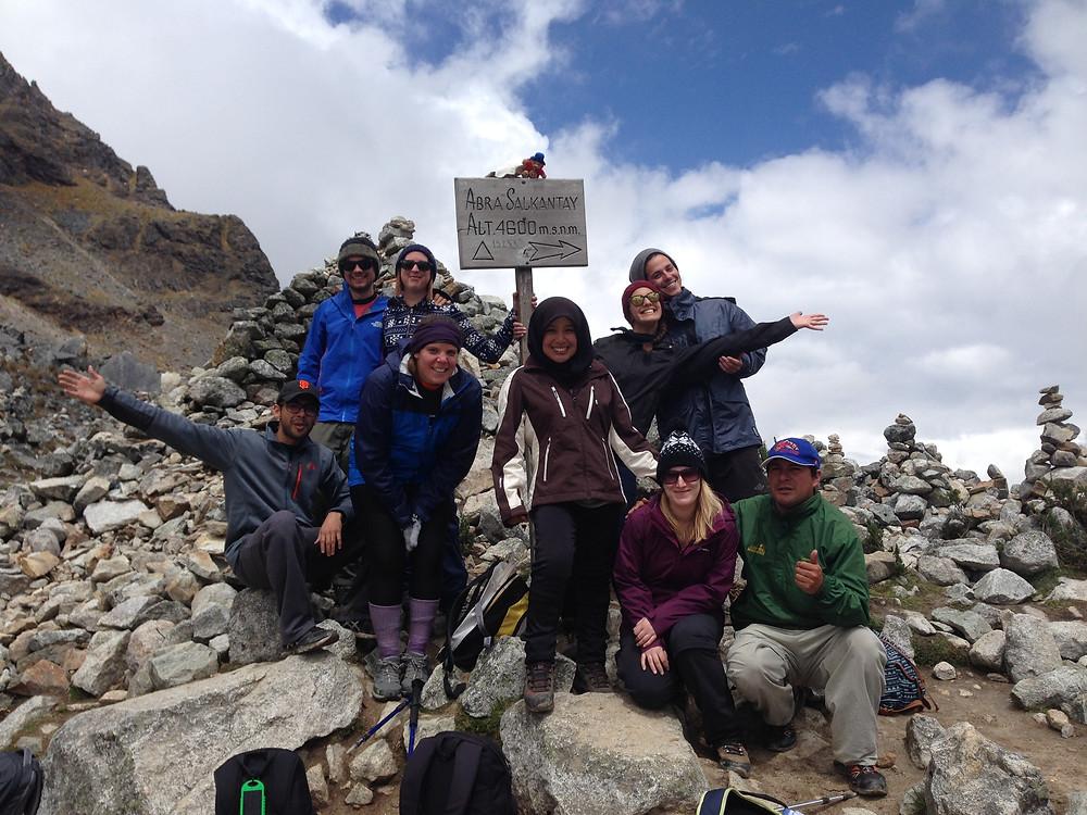 Salkantay Trek group photo