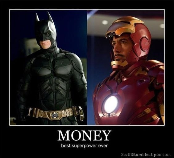 Money best superpower ever