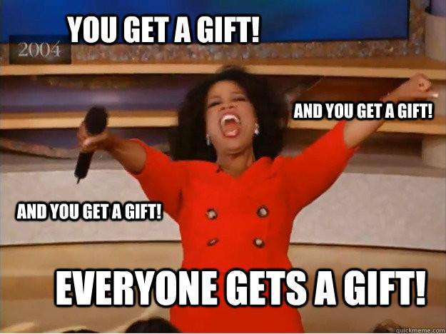 Oprah Gift