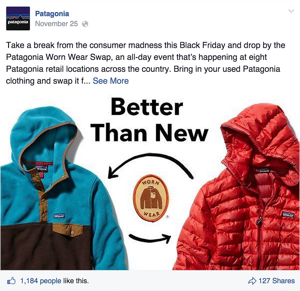 patagonia worn wear campaign