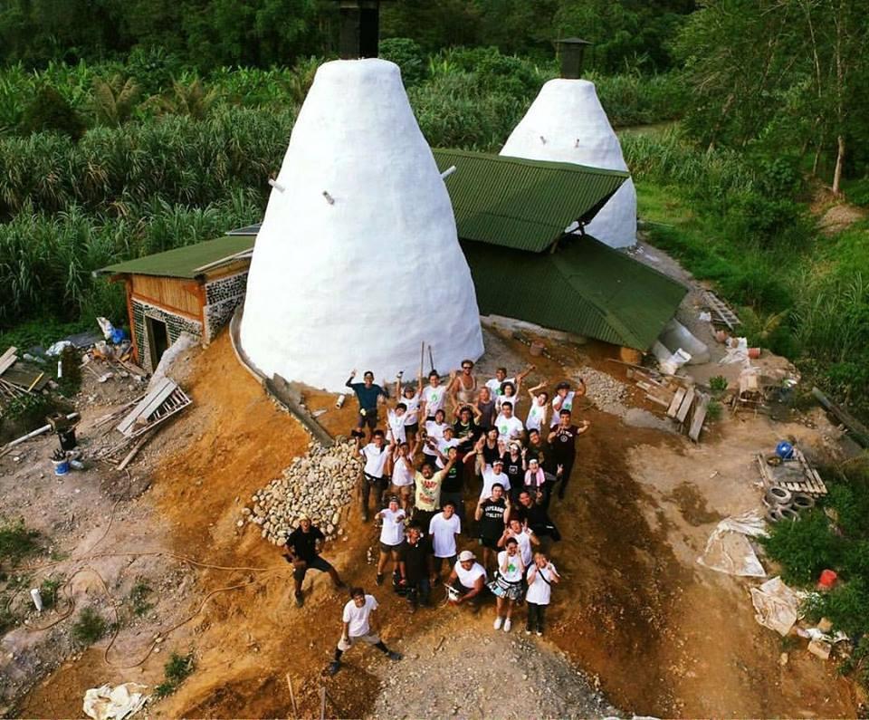 Malaysia's first Earthship!