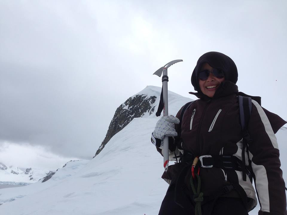Mountain climbing again
