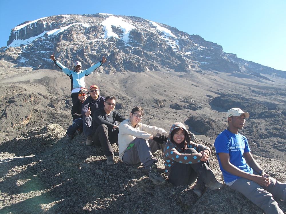 Mount Kilimanjaro group photo
