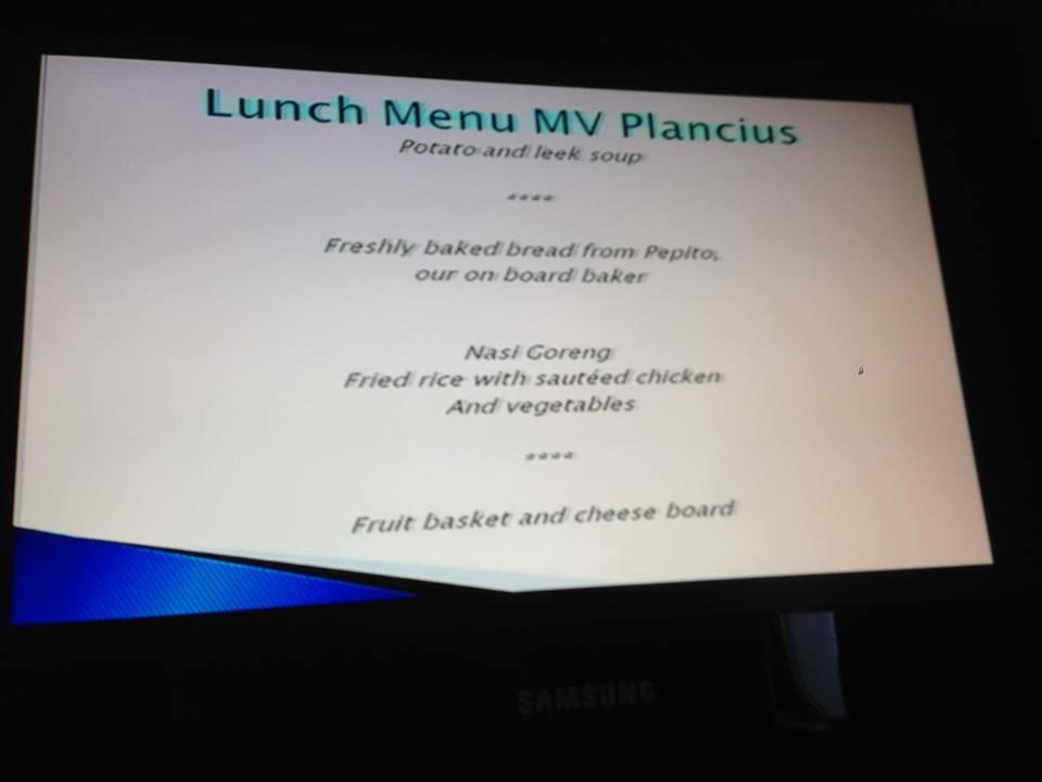 Nasi Goreng on the menu