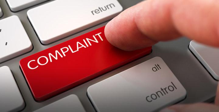 send a complaint