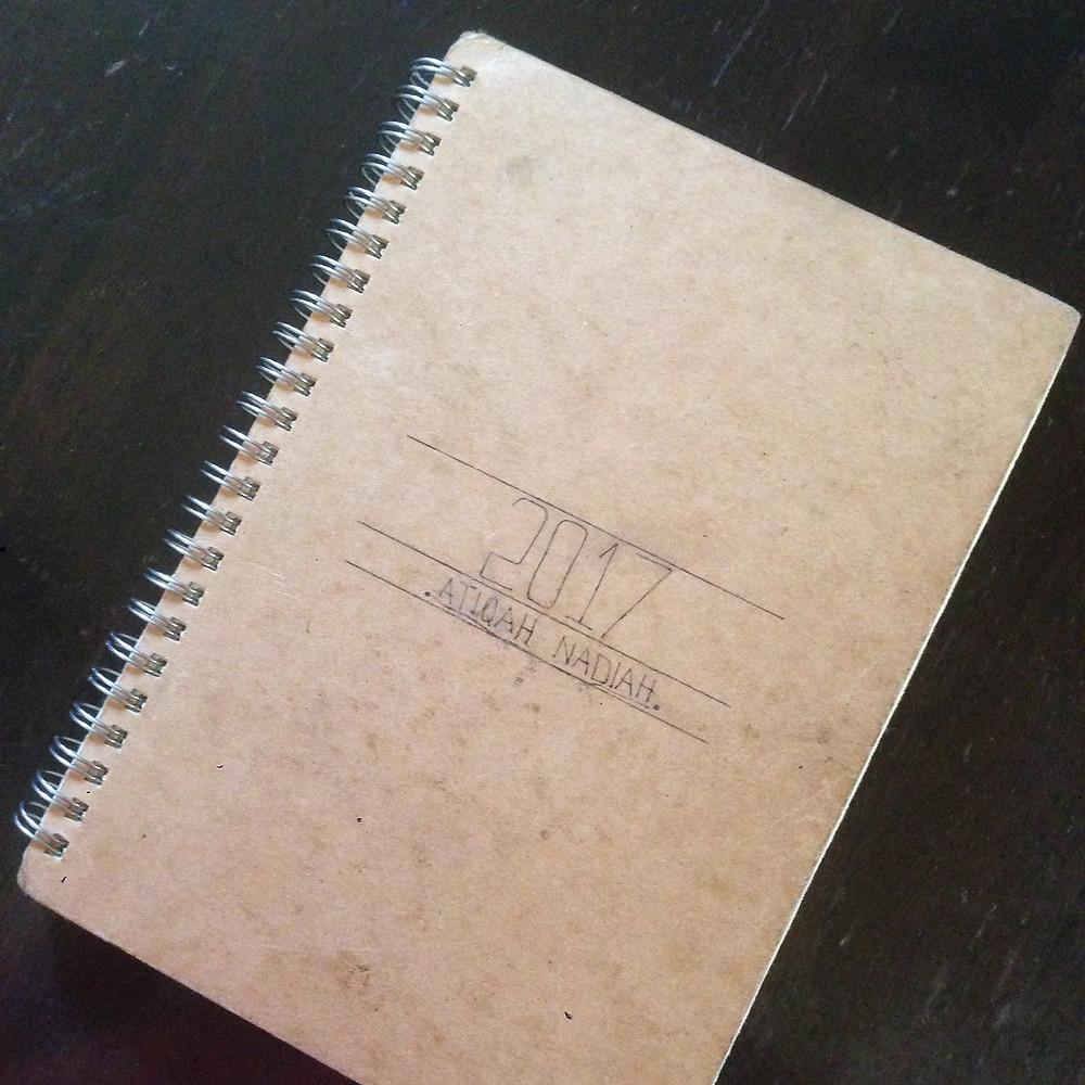 Daiso notebook
