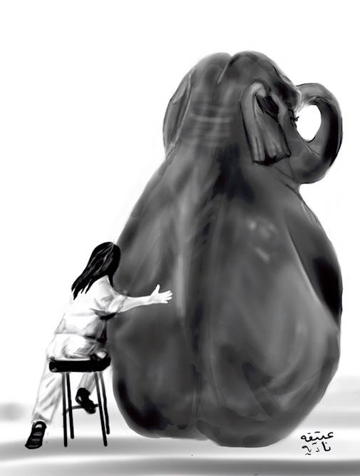 ANZ Studio Elephant and Girl