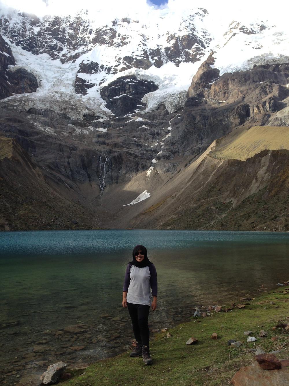Salkantay Trek lake view