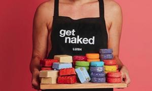 lush naked packaging