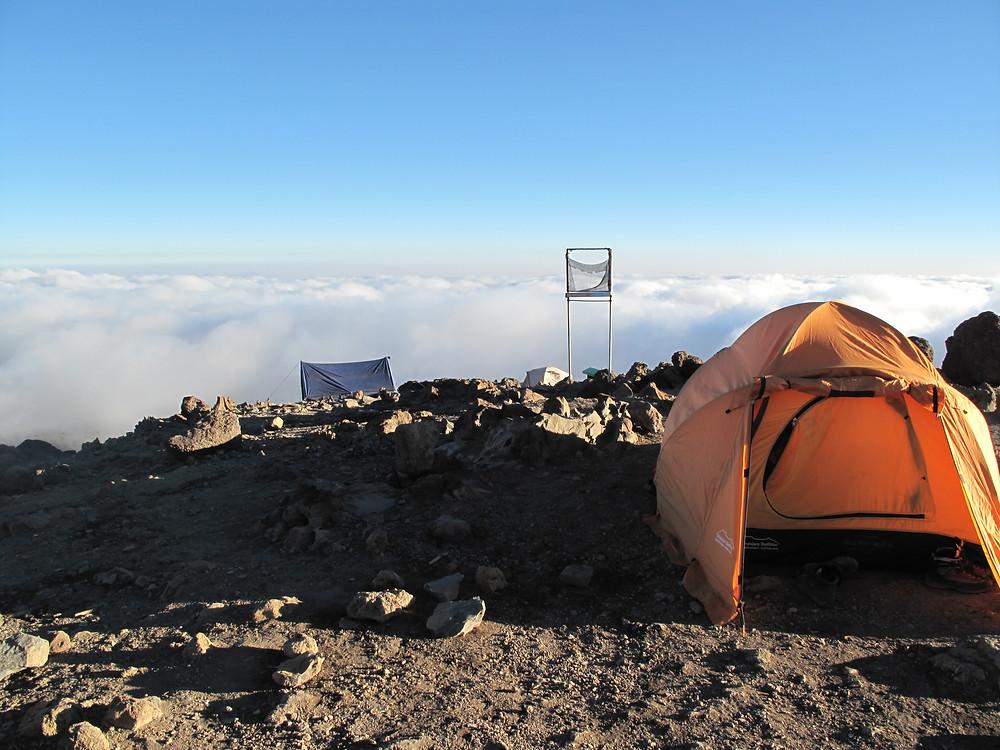 Tent basecamp Kilimanjaro