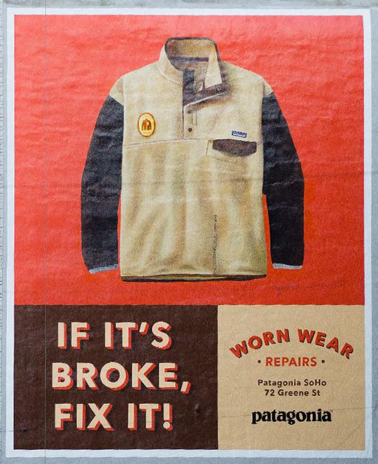 patagonia if it's broke, fix it!
