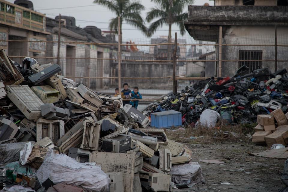 e-waste village