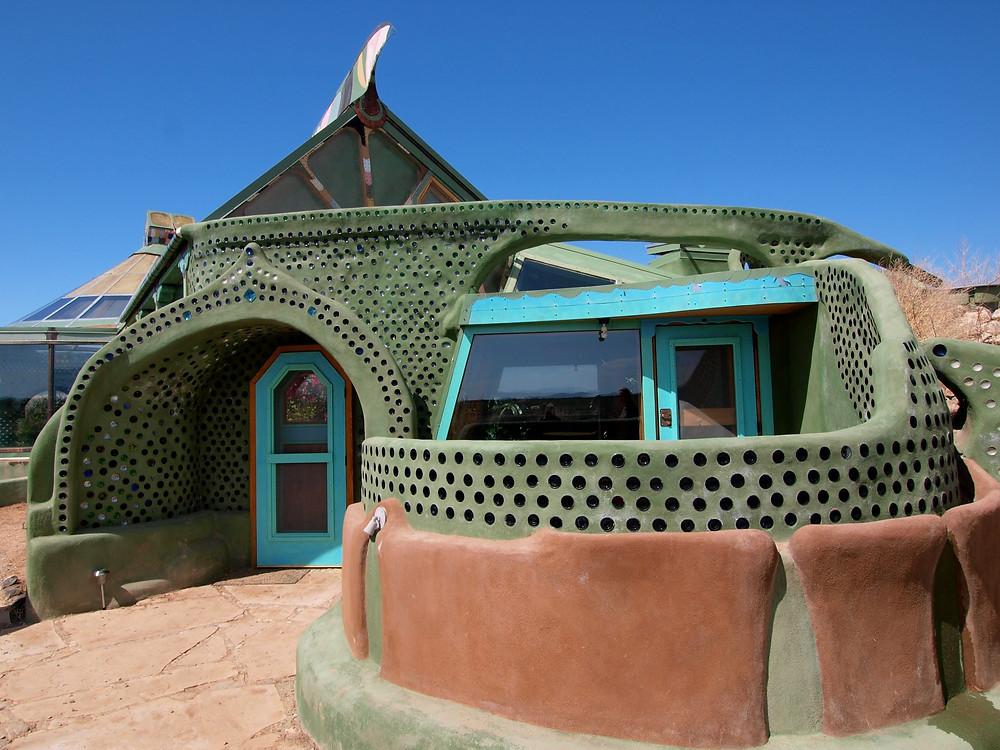 fancy earthship homes