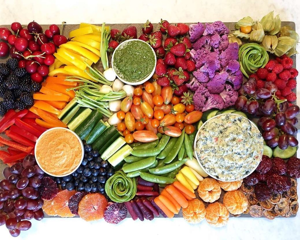 platter of real food