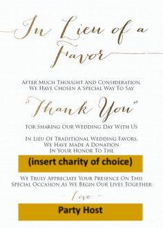 donation door gift