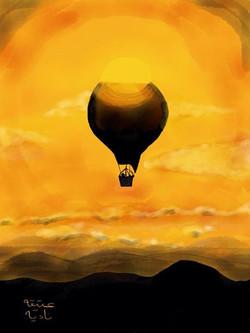 ANZ Studio Sunset Balloon